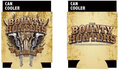 UBOBHCC01 bounty hunters coozie front back