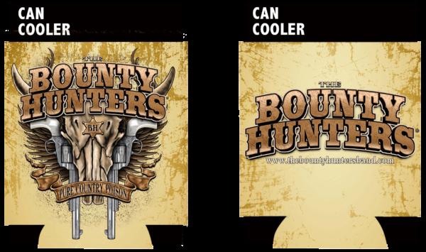 UBOBHCC01 bounty hunters coozie front back
