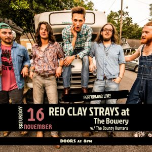 Red Clay Strays at The Bowery